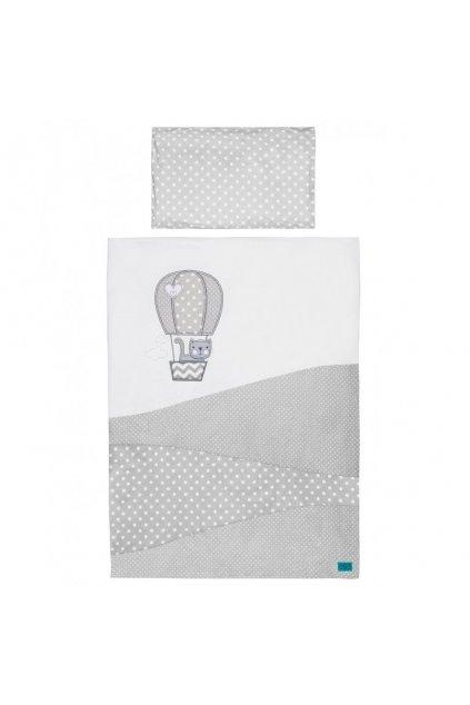 6-dielne posteľné obliečky Belisima Balón 100x135 biele