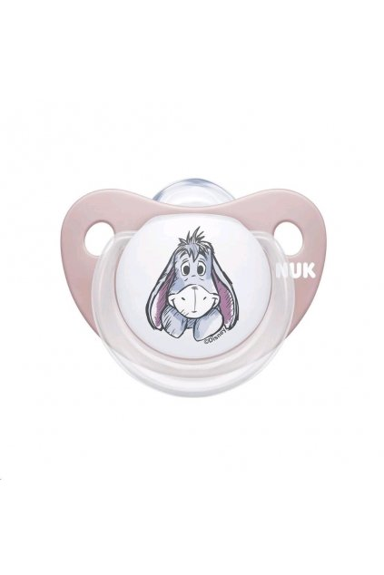 Cumlík Trendline NUK Disney Medvedík Pú 0-6m Box ružový