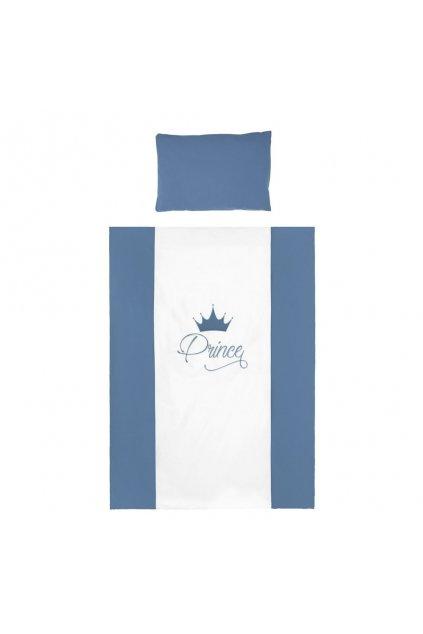 6-dielne posteľné obliečky Belisima Royal Baby 100/135 modré