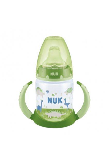 Dojčenská fľaša na učenie NUK 150 ml zelená dino