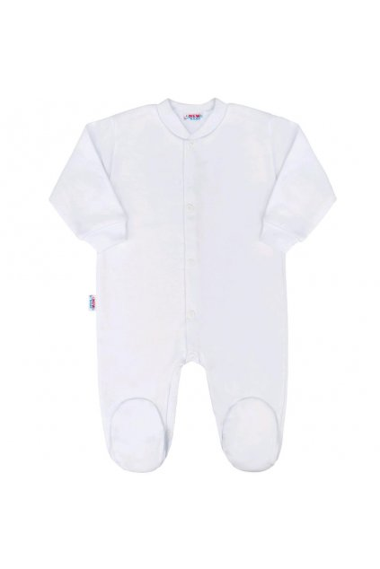 Dojčenský overal New Baby Classic biely
