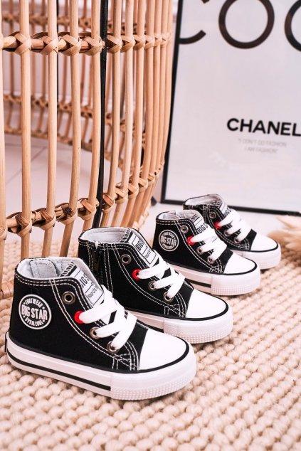 Detské tenisky farba čierna kód obuvi HH374084 BLACK