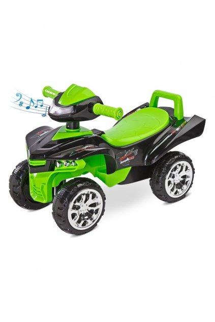 Odrážadlo štvorkolka Toyz miniRaptor zelené