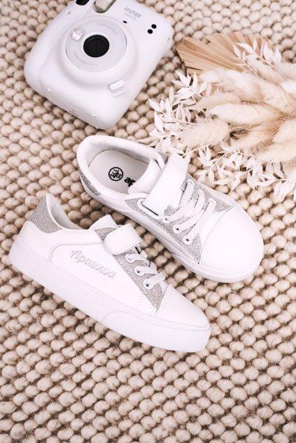 Detské tenisky farba biela kód obuvi VC43 WHITE