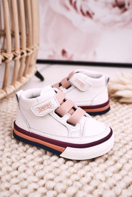 Detské tenisky farba ružová kód obuvi GQ06 GQ22 PINK