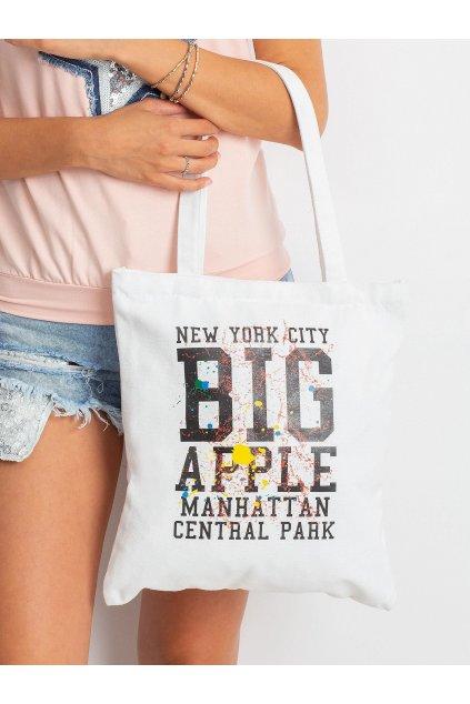 Textílna kabelka biela kód 6941595142215