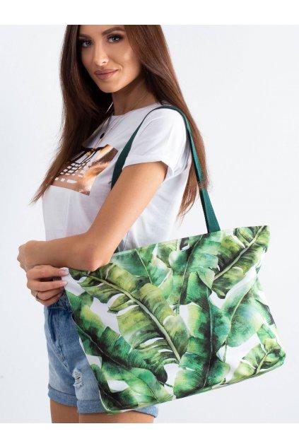 Textílna kabelka zelená kód CE-TR-012.76P/HOLIDAYIBIZA