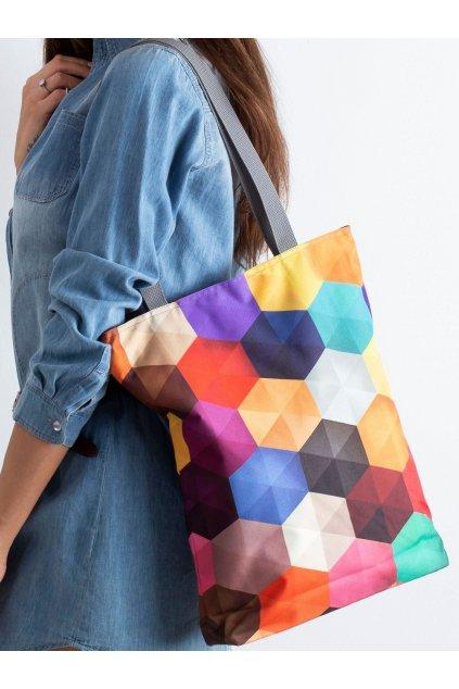 Textílna kabelka viacfarebná kód CE-TR-031.63P/SunnyFAKTOR
