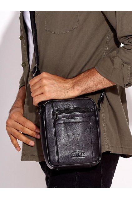 Pánska kabelka čierna kód CE-TR-8020-NDM.11