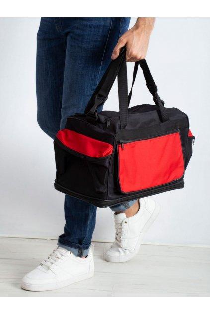 Pánska kabelka červená kód CE-TR-RR-001.66P
