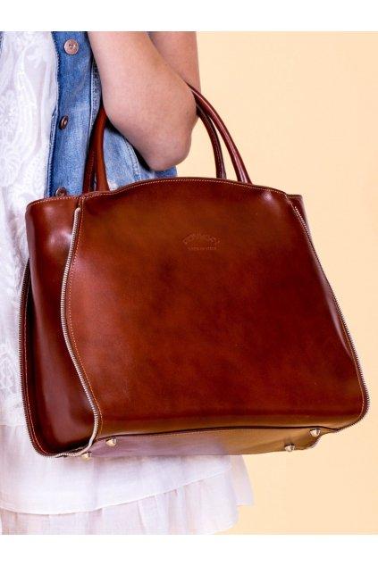 Shopper kabelka hnedá kód CE-TR-TWR-6.04