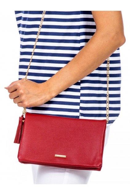 Listová kabelka červená kód OW-TR-5503-2.96