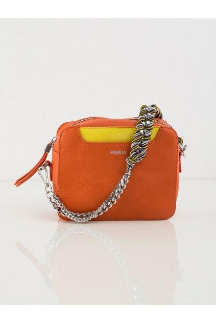 Crossbody kabelka pomarančová kód OW-TR-X9975