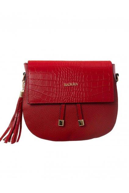 Crossbody kabelka červená kód T_D114CR_CD