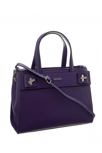 Shopper kabelka fialová kód T_D115FI_CD