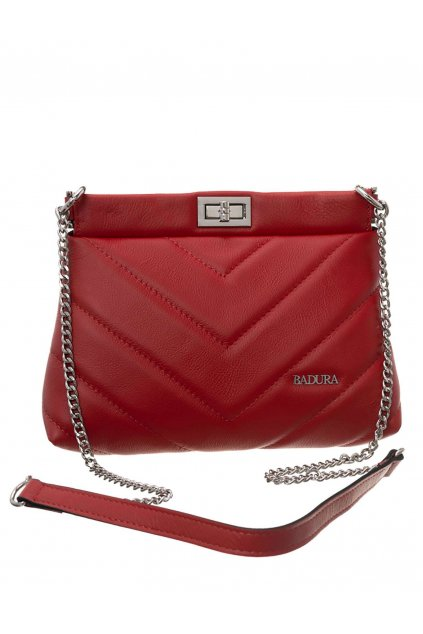 Crossbody kabelka červená kód T_D117CR_CD