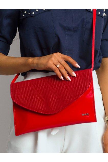Listová kabelka červená kód W64-ex-41/54W.30P