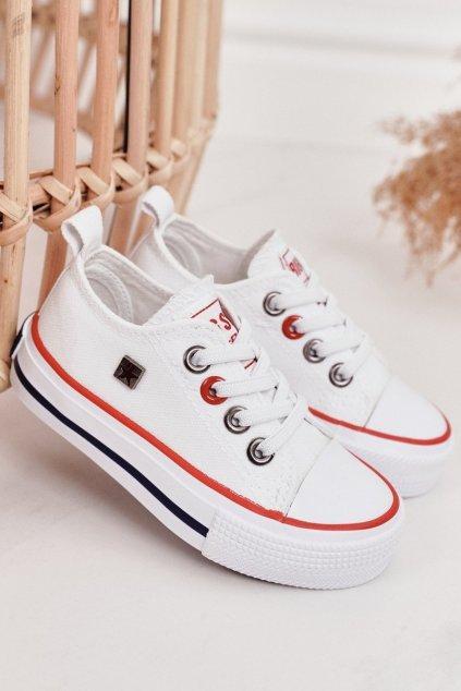 Detské tenisky farba biela kód obuvi HH374089 WHITE