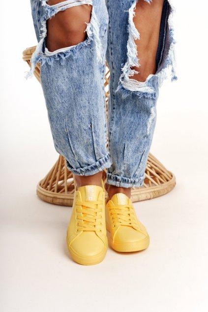 Dámske tenisky farba žltá kód obuvi HH274142 YELLOW