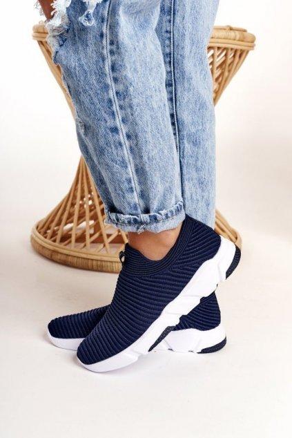 Dámske tenisky farba modrá kód obuvi DD274464 NAVY