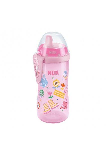 Detská fľaša NUK Kiddy Cup 300 ml dievča