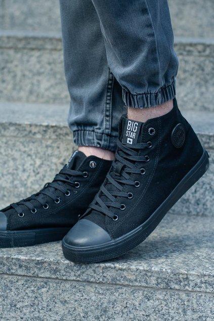 Čierna obuv kód topánok FF174550 BLACK