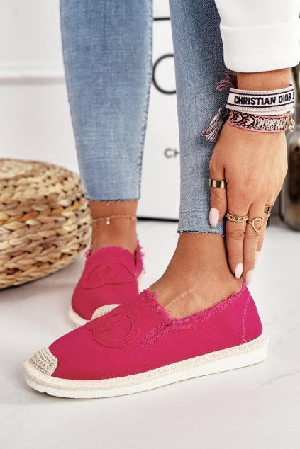 Dámske tenisky farba ružová kód obuvi NB273 FUCHSIA