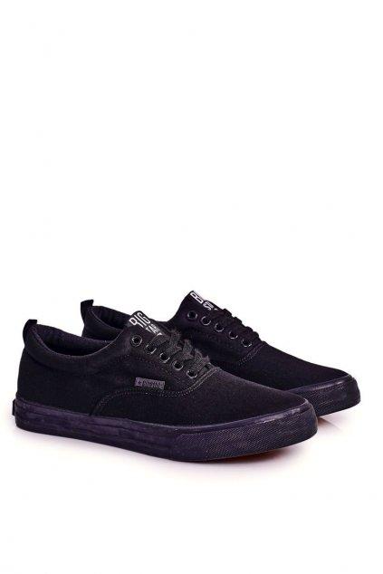 Čierna obuv kód topánok FF174549 BLK