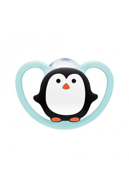 Cumlík Space NUK 6-18m penguin BOX