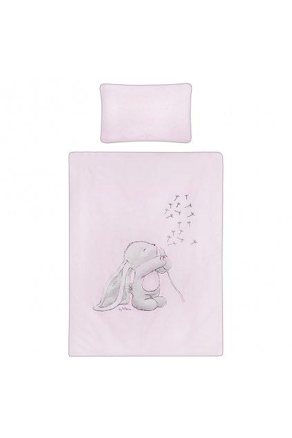 5-dielne posteľné obliečky Belisima ANDRE 100/135 ružové