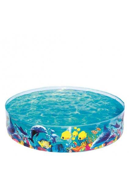Detský bazén s pevnou stenou Bestway more