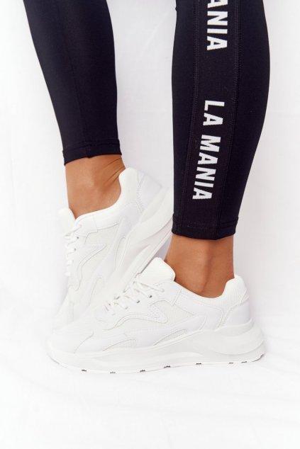 Dámske tenisky farba biela kód obuvi YL-59 WHITE