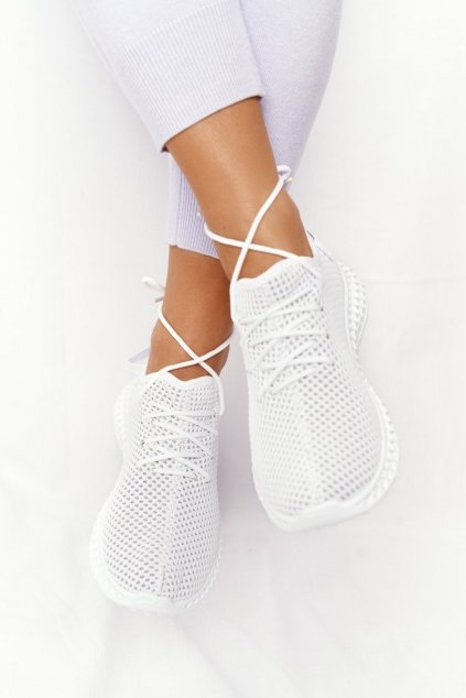 Dámske tenisky farba biela kód obuvi NB392P WHITE