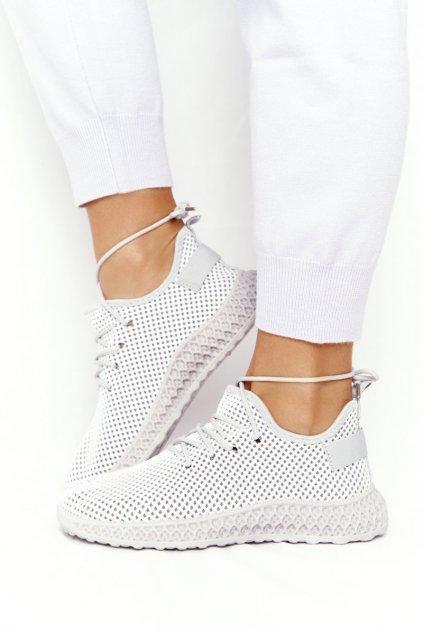Dámske tenisky farba sivá kód obuvi NB392P GREY
