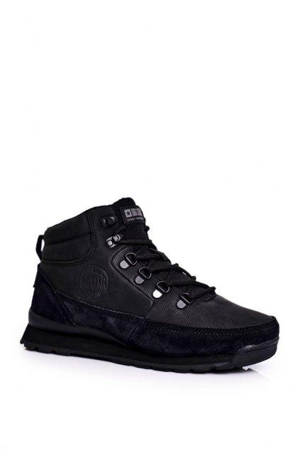 Dámske trekové topánky farba čierna NJSK GG274615 BLK