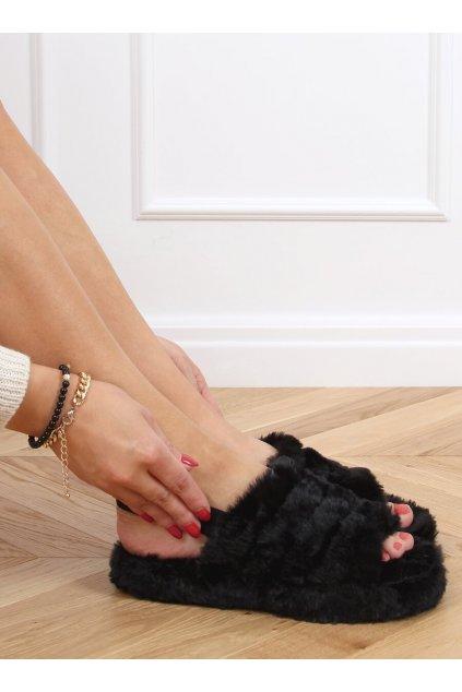 Damske ponožky čierne X8130