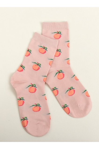 Dámske ponožky ružové NJSK SK-NZC6573