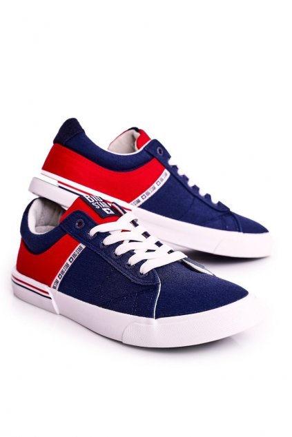 Modrá obuv kód topánok FF174137 NAVY/RED