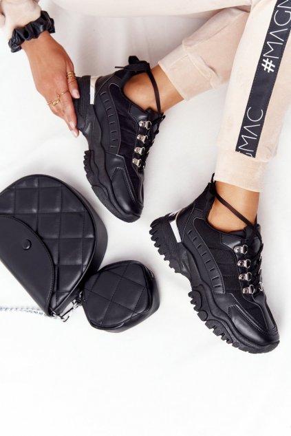 Dámske tenisky farba čierna kód obuvi VL131 BLACK