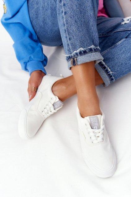 Dámske tenisky farba biela kód obuvi FF274168 WHITE