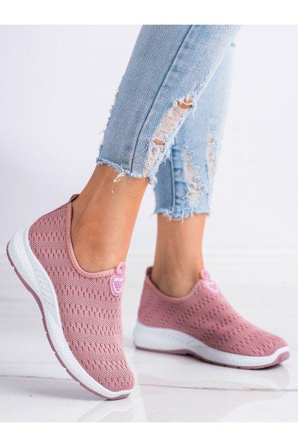 Ružové tenisky Shelovet kod C015ROSA