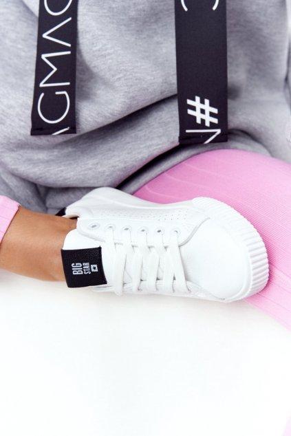 Dámske tenisky farba biela kód obuvi HH274071 WHITE/BLK