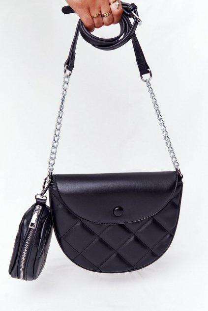 Dámska kabelka čierna kód kabelky AM-3 BLACK