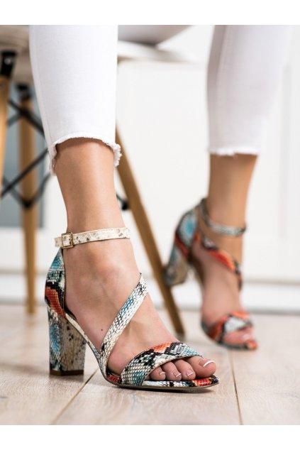 Zvierací motív sandále Sergio leone kod SK870R