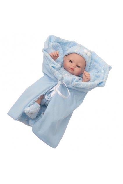 Luxusná detská bábika-bábätko Berbesa Sofia 28cm
