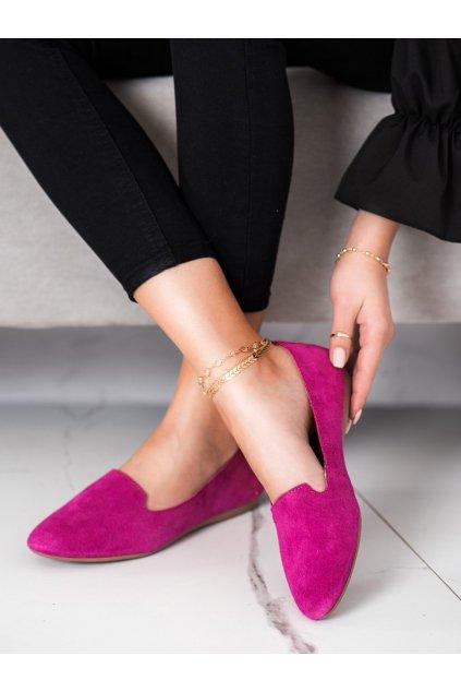 Ružové dámske balerínky Filippo kod DP1274/21F