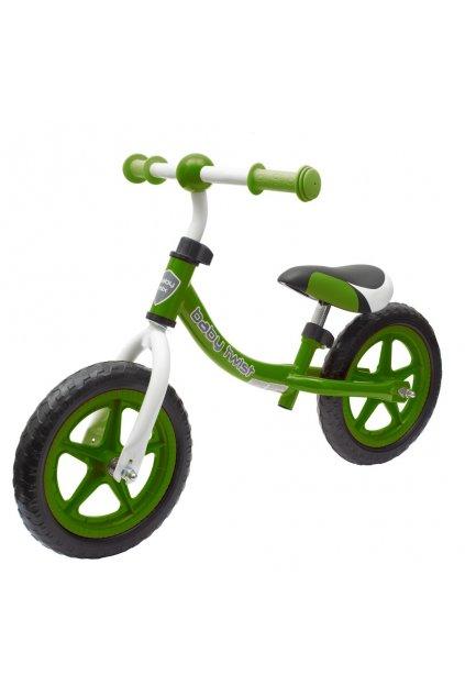 Detské odrážadlo bicykel Baby Mix TWIST zelené
