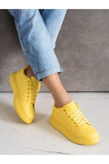 Žlté tenisky Shelovet kod WBH01Y