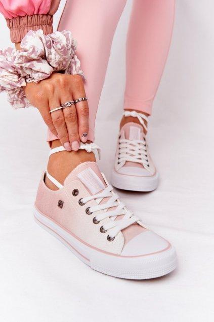 Dámske tenisky farba ružová kód obuvi HH274127 PINK