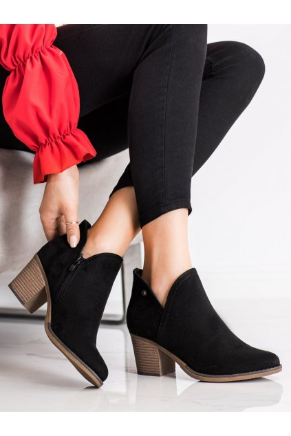 Čierne dámske topánky Filippo kod DBT2075/21B